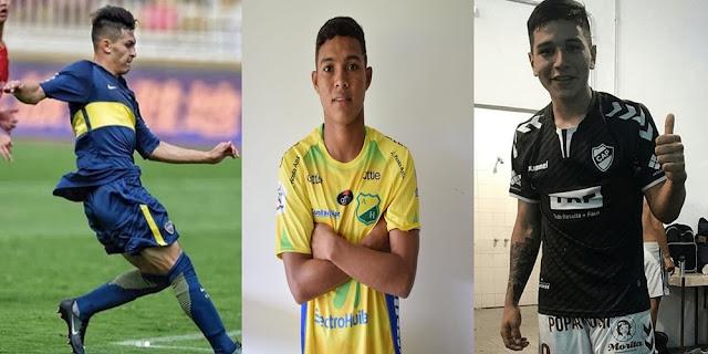 Inter aposta em jovens da América do Sul Montagem sobre fotos de reprodução