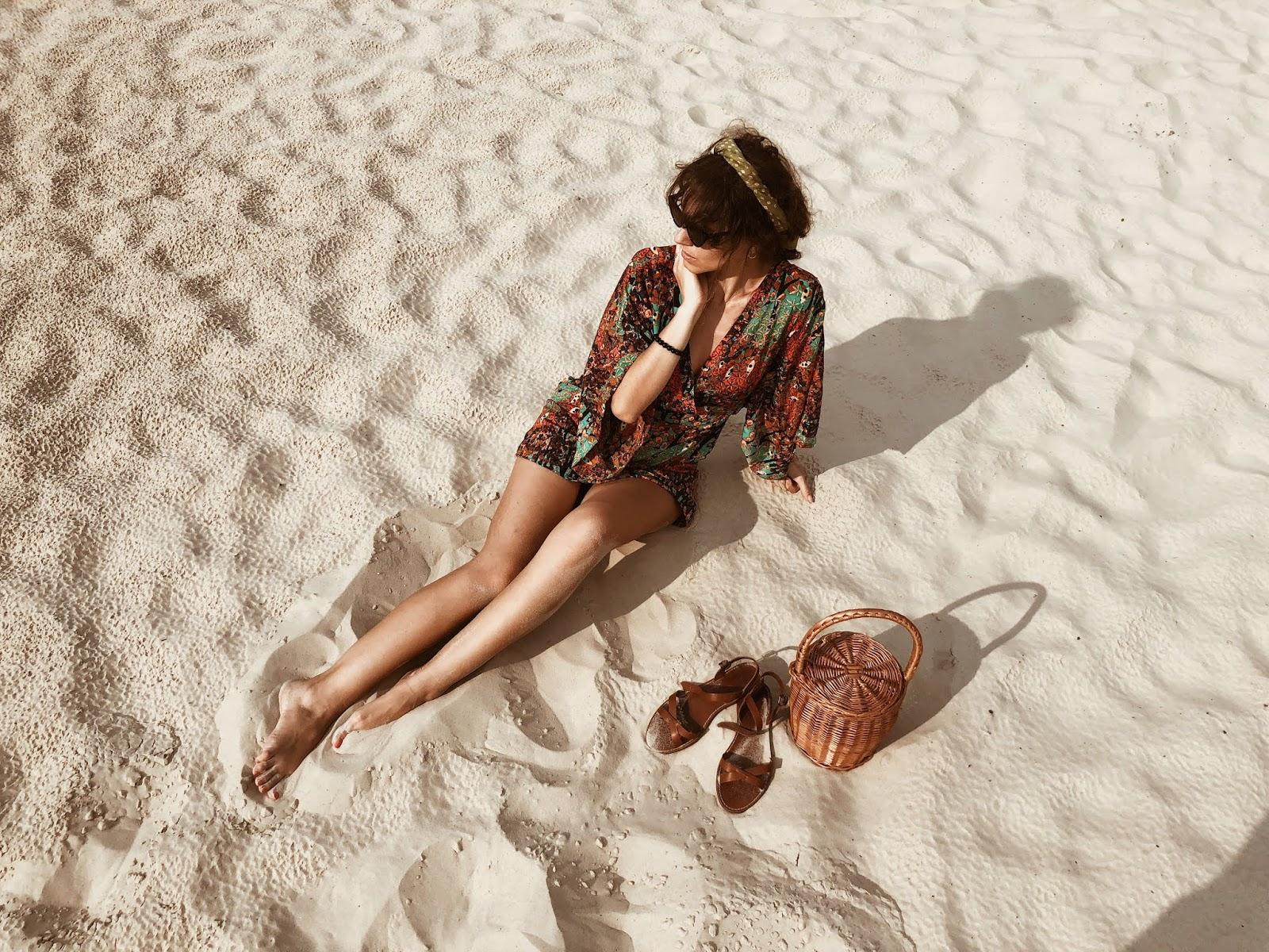 красивое фото на песке