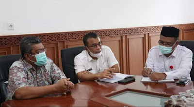 Kepala Ombudsman R.I Perwakilan Aceh Kunjungan Kerja Ke Pidie Jaya