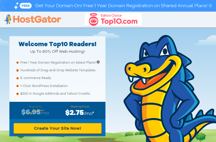 HostGator hosting plans and features | best hosting