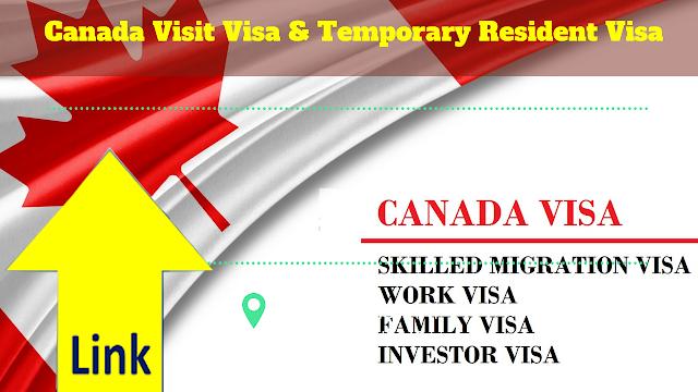 Canada Visit Visa & Temporary Resident Visa,What is a temporary resident visa (TRV)?