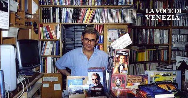 Giampaolo Cossato, ex-gestore insieme a Gianluigi Missiaja della Libreria Solaris a Venezia