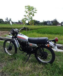 Jual Motor Trail Jadoel suzuki ts 125 th 1977