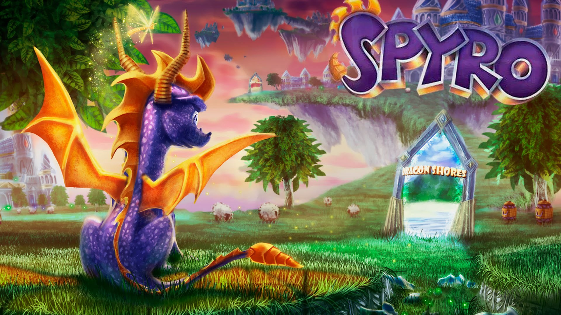 Save spyro reignited trilogy hd wallpapers read games - Spyro wallpaper ...