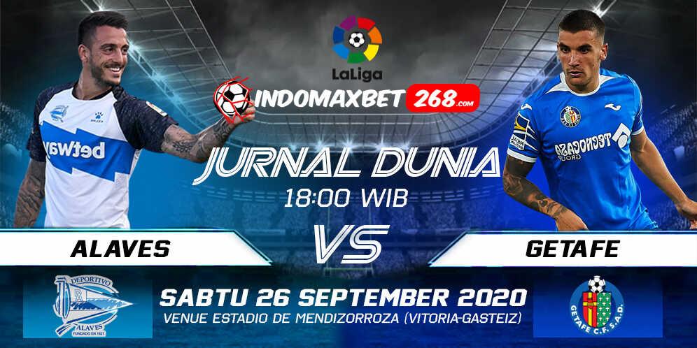 Prediksi Alaves vs Getafe 26 September 2020 Pukul 18:00 WIB