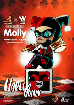 Molly in Harley Quinn Disguise Artist Mix Figure by Kenny Wong x Hot Toys x DC Comics