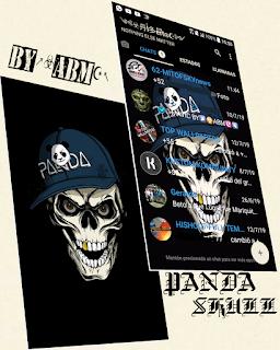 Panda & Skull Theme For YOWhatsApp & Fouad WhatsApp By ABM