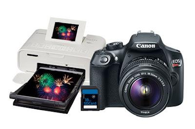 Kit fotográfico Canon