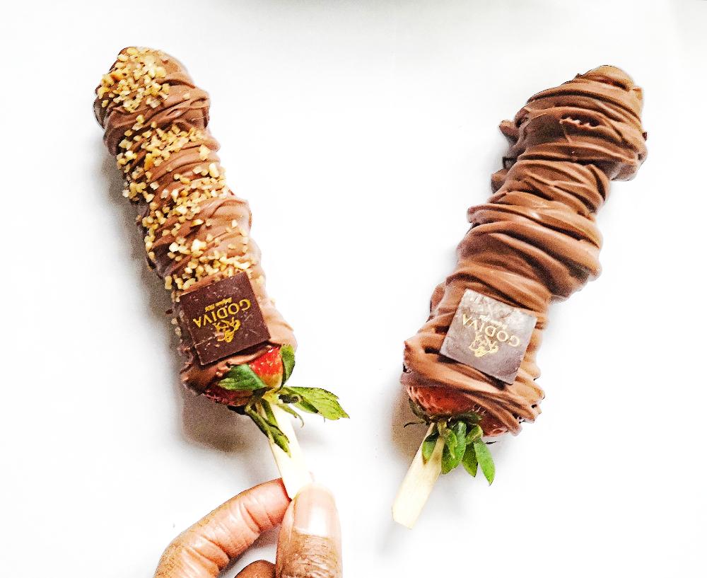 Godiva London chocolate