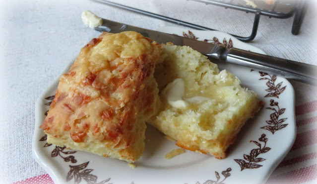 Three Ingredient Cheese Scones