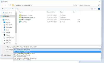 Cara File Word Terkunci
