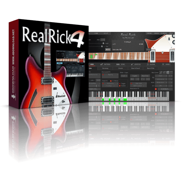 MusicLab RealRick v4.0.5.7471 Full version