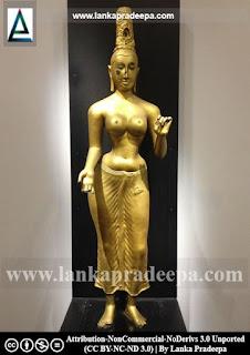 Replica of Tara Devi at Colombo Museum