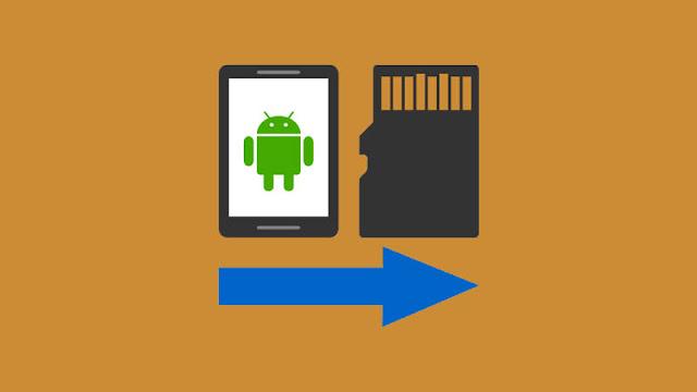 Cara Memindahkan File dari Penyimpanan Internal ke kartu SD