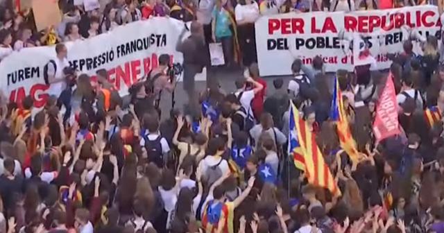 Las protestas no cesan en Cataluña