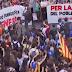 Las protestas no cesan en Cataluña por cuarto día consecutivo