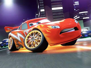 Gambar Mobil McQueen