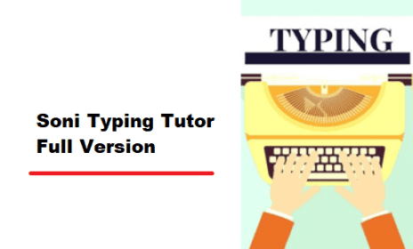 Best Typing Tutor : Soni Typing Tutor 2.1.32 Free Download + Crack