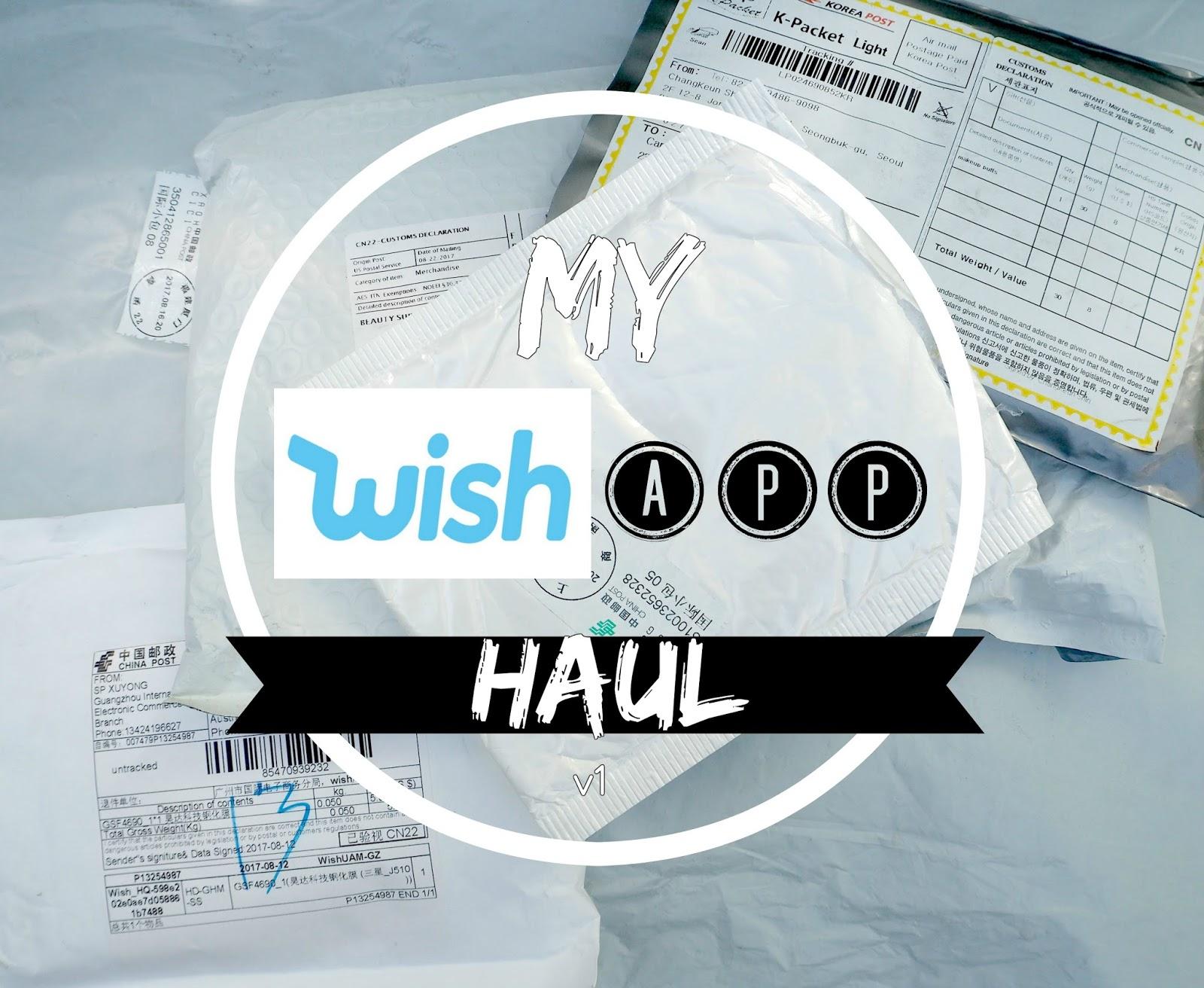 wish app haul v1: www.poshmakeupnstuff.blogspot.com