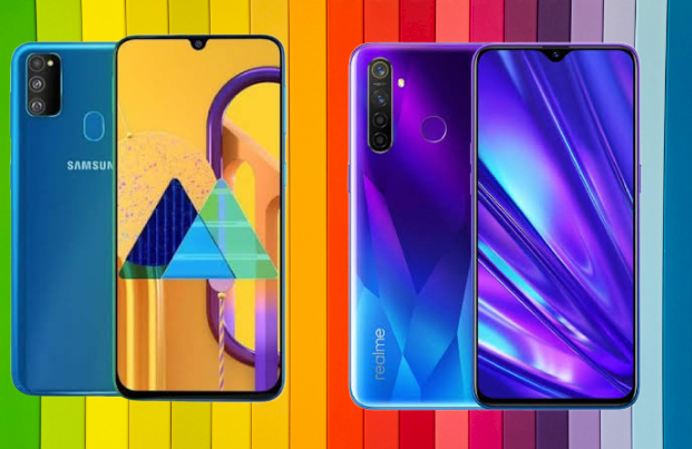 Xiaomi Redmi Note 8 Pro, Realme XT and Samsung Galaxy M30s