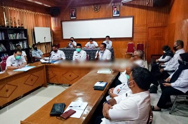 Rapat Tim Terpadu Satgas Pangan Provinsi Jambi Dihadiri Oleh Dirreskrimsus Polda Jambi