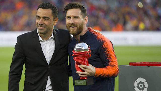 Huyền thoại Barca Xavi tiết lộ thời điểm Messi từ giã bóng đá 2
