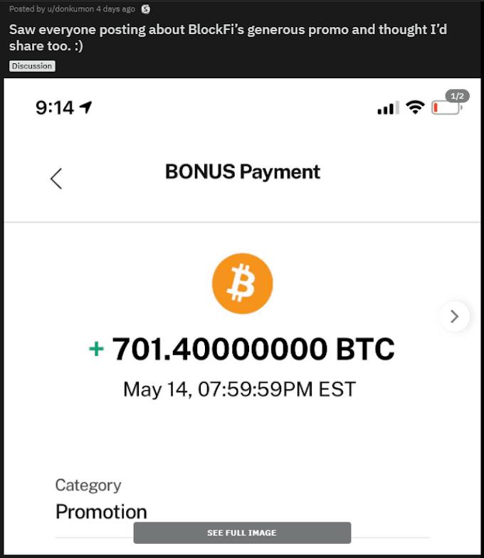Miles de bitcoins enviados por error ¿Eres uno de los clientes que BlockFi ha hecho millonarios?