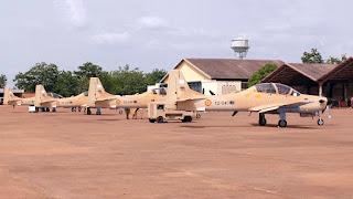 A-29 Super Tucano AU Mali