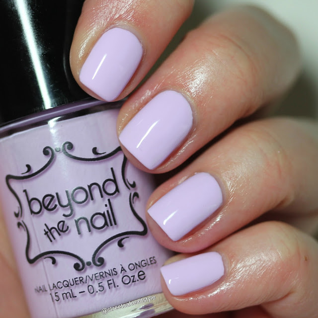 Beyond the Nail Charged Lilac