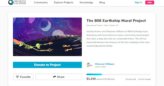 The 808 Earthship Mural Project
