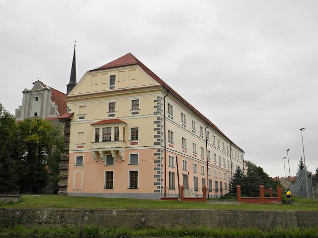 Budynek nad Budzówką.