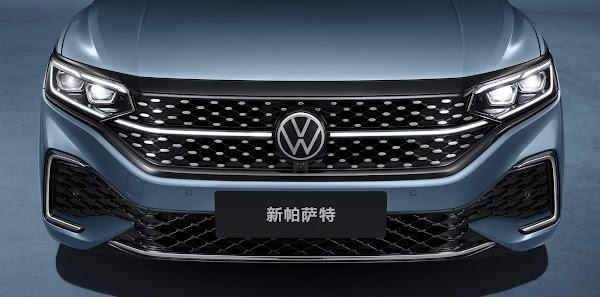 Volkswagen Passat 2022 ganha facelift e Star Grill - China