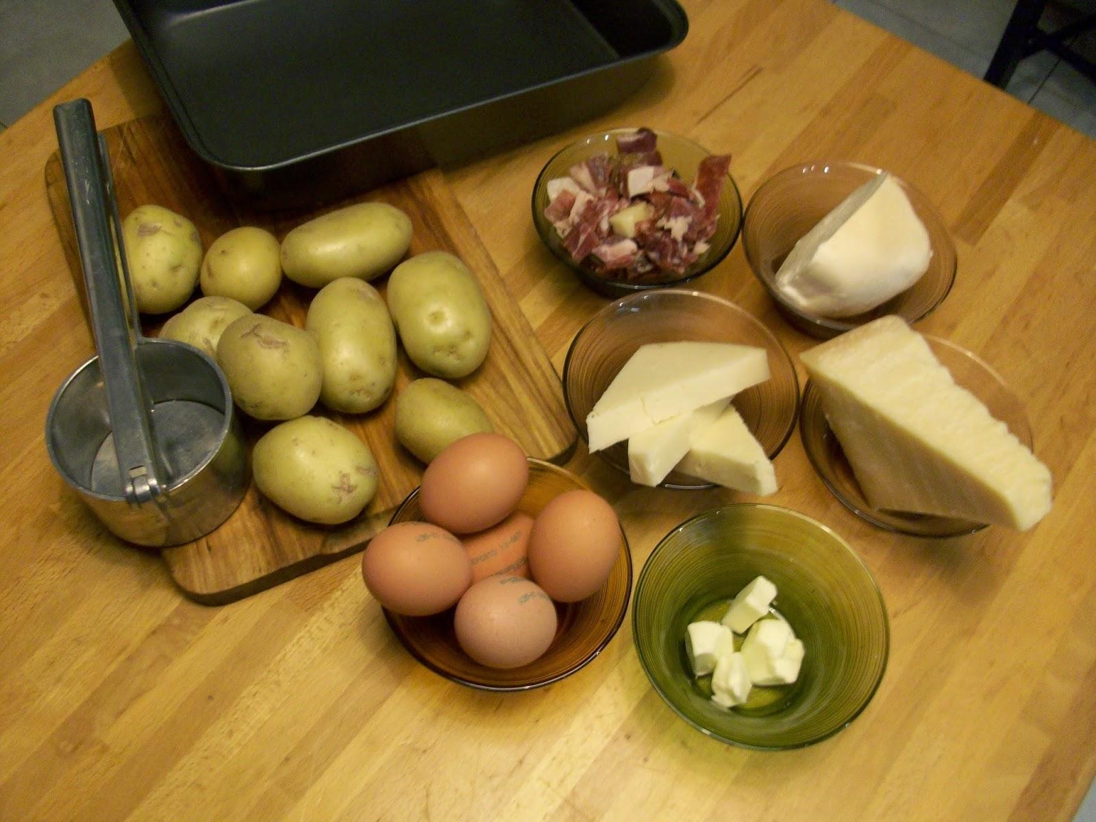 LA CUCINA NAPOLETANA DI SILVY Gateau di patate