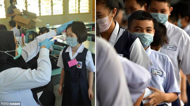 Pelajar & warga sekolah tak wajib pakai face mask - Menteri