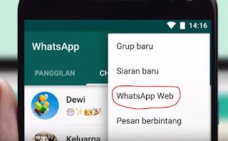 Cara Membuka Whatsapp di laptop tanpa perlu mendownload
