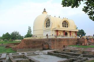 Mahanirvana Stupa Buddhist tourism