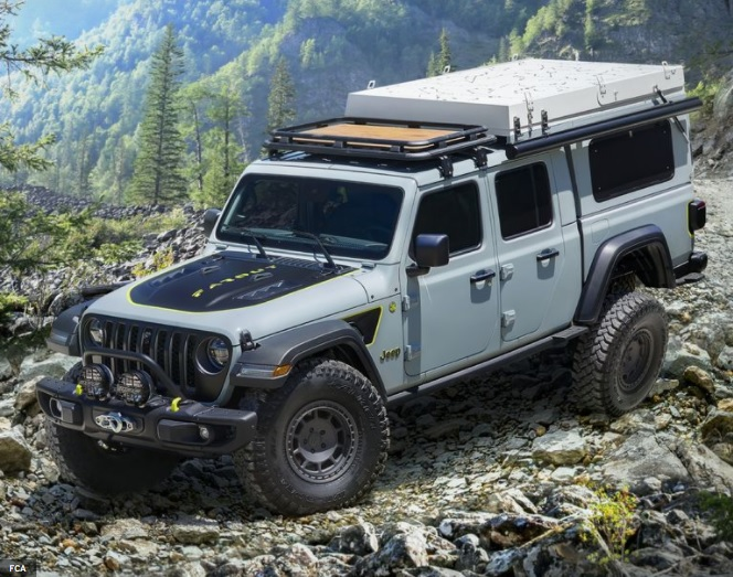 Jeep Gladiator Overlander Foraut