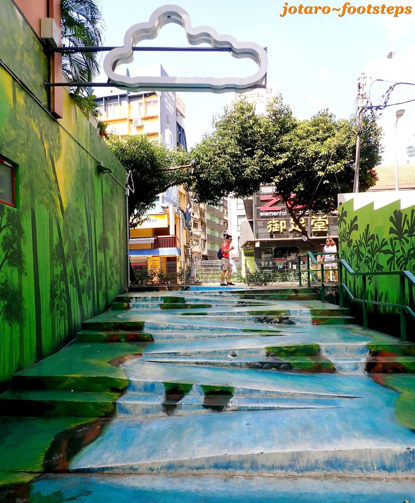 Footsteps Jotaro S Travels Art Gallery Jalan Alor Street Art