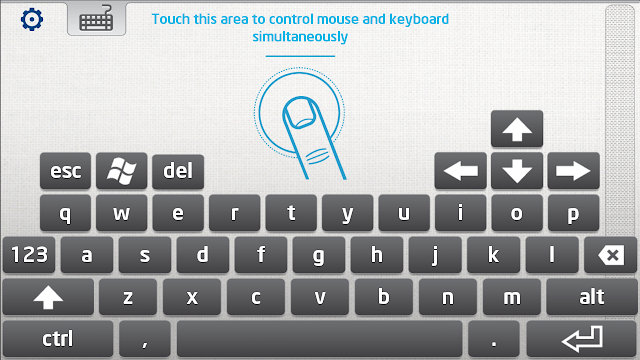 Intel keyboard looks much like any Android keyboard