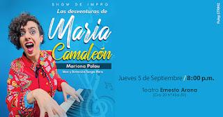 LAS DESVENTURAS DE MARÍA CAMALEÓN