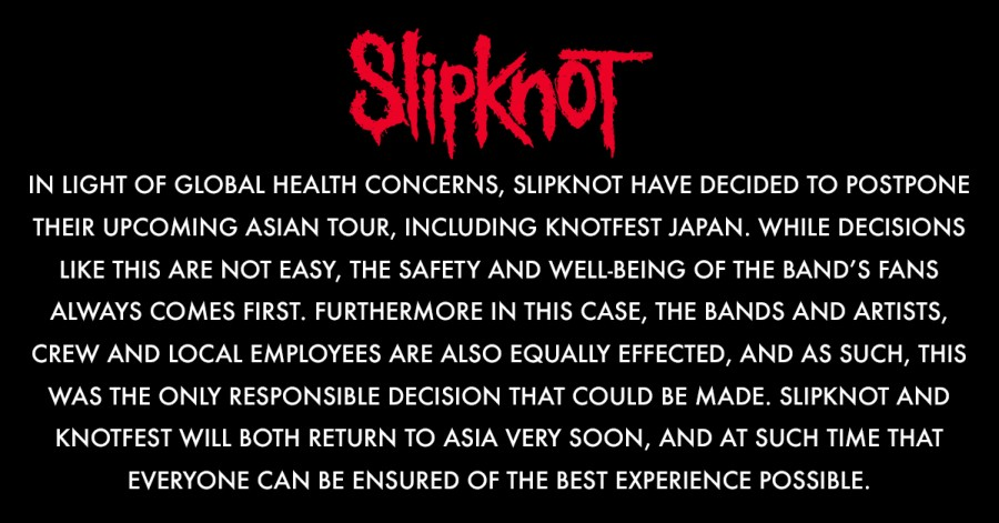 Slipknot press