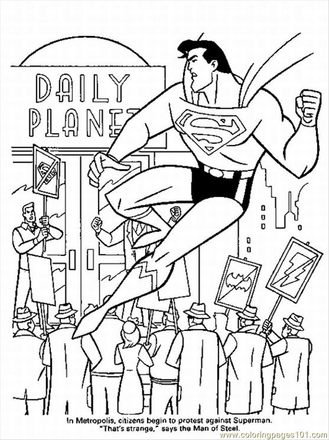 download free superhero coloring pages supe