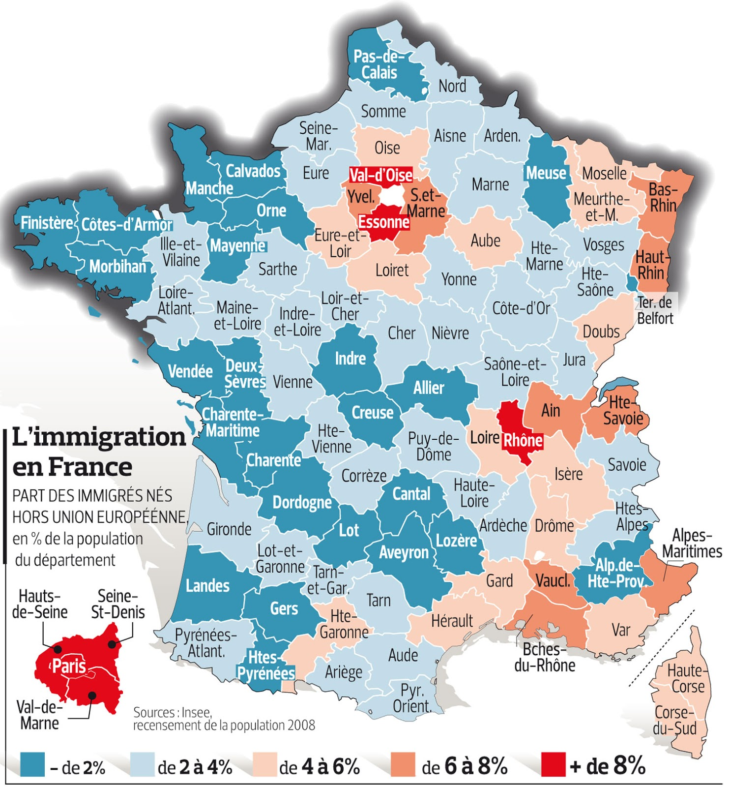 immigration in france Is france's new immigration bill 'firm but fair' the french government unveils a highly controversial immigration and asylum bill - we take a closer look also this week, the opposition conservative leader laurent wauquiez is.