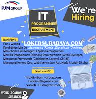 Info Lowongan Kerja di PJM Group Surabaya Juli 2020