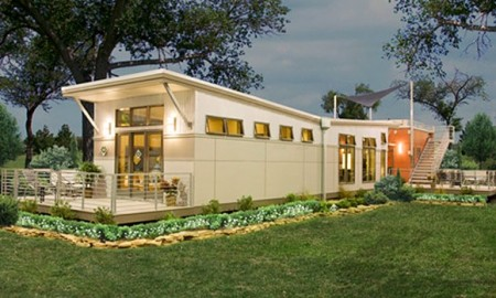 Prebuilt green modular home