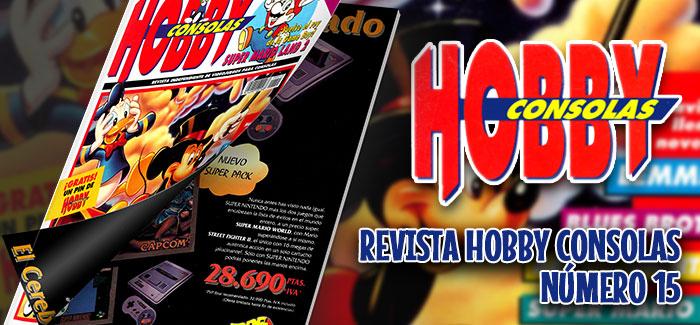 Revista Hobby Consolas Nº 15 (1992)