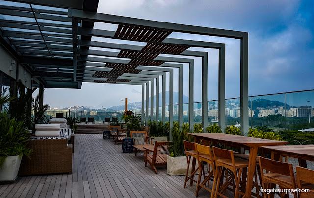 Terraço do Hotel Prodigy Aeroporto Santos Dumont