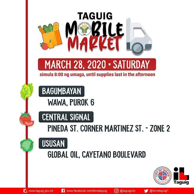 Mobile Market inilunsad sa Taguig