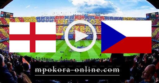 مشاهدة مباراة  جمهوريه التشيك وانجلترا بث مباشر كورة اون لاين 22-06-2021 يورو 2020