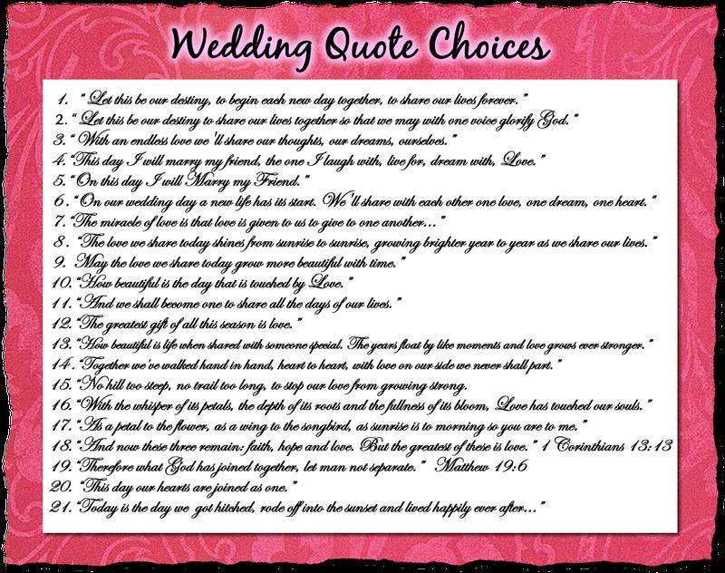 Sayings Advice Bridal Shower